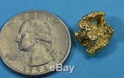 #207 Alaskan-Yukon BC Natural Gold Nugget 4.18 Grams Genuine