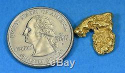 #218 Alaskan-Yukon BC Natural Gold Nugget 4.33 Grams Genuine