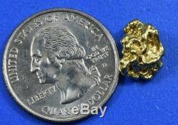 #223 Alaskan-Yukon BC Natural Gold Nugget 2.96 Grams Genuine
