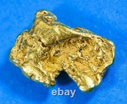 #228 Alaskan BC Natural Gold Nugget 5.05 Grams Genuine