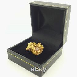 22ct (916, 22K) 15.44gr Yellow Gold Australian Natural Gold Nugget