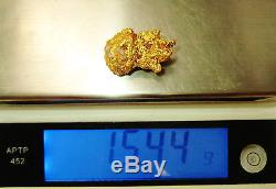 22ct (916, 22K) Yellow Gold Australian Natural Prospect Gold Nugget