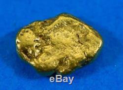 #2A Alaskan BC Natural Gold Nugget 1.64 Grams Genuine