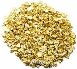 3.000 Grams Alaskan Yukon Bc Natural Pure Gold Nuggets #8 Mesh W Bottle (#b800)