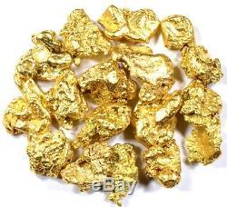 3.111 Grams Alaskan Yukon Bc Natural Pure Gold Nuggets #4 Mesh Free Shipping
