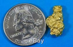 #309 Alaskan BC Natural Gold Nugget 4.35 Grams Genuine