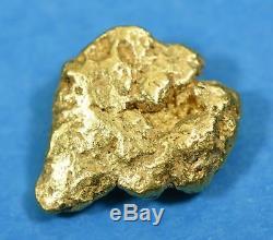 #313 Alaskan-Yukon BC Natural Gold Nugget 3.09 Grams Genuine