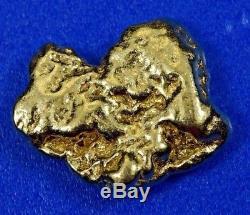 #315 Alaskan-Yukon BC Natural Gold Nugget 4.04 Grams Genuine