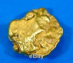 #331 Alaskan BC Natural Gold Nugget 3.14 Grams Genuine