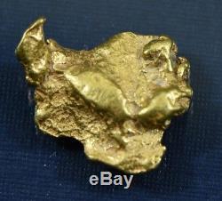 #337 Alaskan-Yukon BC Natural Gold Nugget 3.02 Grams Genuine