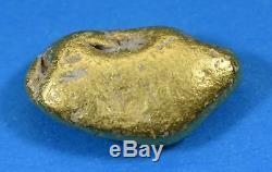 #363 Alaskan BC Natural Gold Nugget 8.56 Grams Genuine