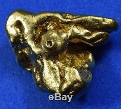 #372 Alaskan BC Natural Gold Nugget 7.17 Grams Genuine