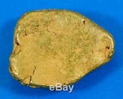 #376A-B Alaskan BC Natural Gold Nugget 12.32 Grams Genuine
