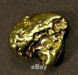 #381 Alaskan BC Natural Gold Nugget 5.54 Grams Genuine