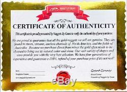 #389A-B Alaskan BC Natural Gold Nugget 10.12 Grams Genuine
