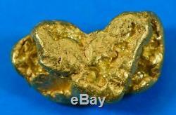 #397 Alaskan BC Natural Gold Nugget 16.74 Grams Genuine