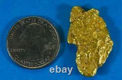 #411 Alaskan BC Natural Gold Nugget 16.30 Grams Genuine