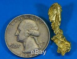 #413 Alaskan BC Natural Gold Nugget 3.22 Grams Genuine