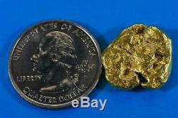 #434-B Alaskan BC Natural Gold Nugget 10.07 Grams Genuine