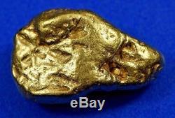 #436 Alaskan BC Natural Gold Nugget 9.13 Grams Genuine