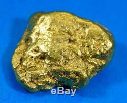 #437 Alaskan BC Natural Gold Nugget 18.10 Grams Genuine