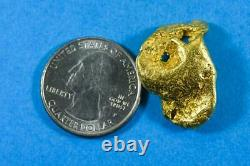 #455B Alaskan BC Natural Gold Nugget 14.73 Grams Genuine