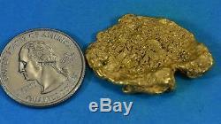 #456 Alaskan BC Natural Gold Nugget 15.32 Grams Genuine