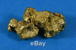#468 Alaskan BC Natural Gold Nugget 10.55 Grams Genuine