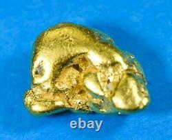 #470 Alaskan BC Natural Gold Nugget 5.07 Grams Genuine