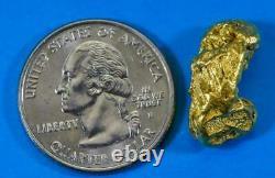 #479 Alaskan BC Natural Gold Nugget 8.67 Grams Genuine