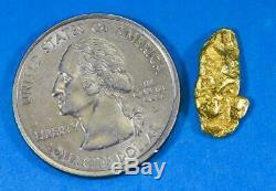#48 Alaskan BC Natural Gold Nugget 1.98 Grams Genuine