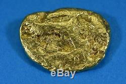 #480 Alaskan BC Natural Gold Nugget 11.19 Grams Genuine