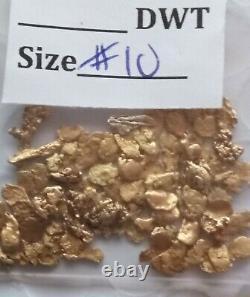 5.000+ GRAMS ALASKAN YUKON BC NATURAL PURE GOLD NUGGETS #10 MESH Jewelry Grade