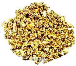 5.000 Grams Alaskan Yukon Bc Natural Pure Gold Nuggets #12 Mesh Free Shipping