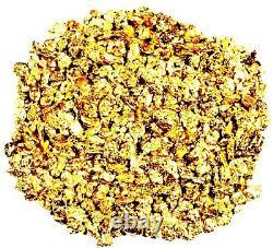 5.000 Grams Alaskan Yukon Bc Natural Pure Gold Nuggets #18 Mesh Free Shipping