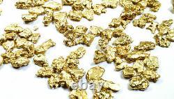 5.000 Grams Alaskan Yukon Bc Natural Pure Gold Nuggets #8 Mesh Free Shipping