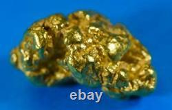 #516B Alaskan BC Natural Gold Nugget 13.37 Grams Genuine