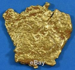 #541 Large Alaskan BC Natural Gold Nugget 28.58 Grams Genuine
