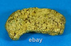 #544C Large Alaskan BC Natural Gold Nugget 33.98 Grams Genuine-C