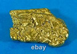 #548C Large Alaskan BC Natural Gold Nugget 33.48 Grams Genuine-C