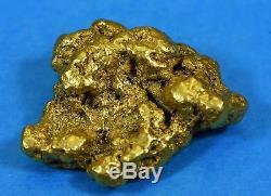 #552 Large Alaskan BC Natural Gold Nugget 27.03 Grams Genuine