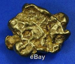 #555 Large Alaskan BC Natural Gold Nugget 29.50 Grams Genuine