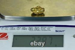 #556 Large Alaskan BC Natural Gold Nugget 22.81 Grams Genuine