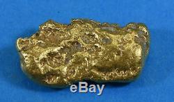 #557 Large Alaskan BC Natural Gold Nugget 33.19 Grams Genuine