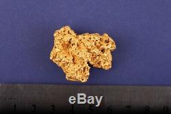 63.21 gram natural gold nugget from Australia