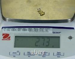 #633 Alaskan-Yukon BC Natural Gold Nugget Pendant 2.73 Grams Authentic