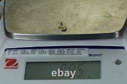 #706 Alaskan-Yukon BC Natural Gold Nugget Pendant. 85 Grams Authentic