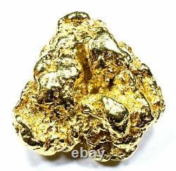 8.174 Grams Alaskan Yukon Bc Natural Pure Gold Nugget Genuine (#n808) B Grade