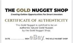 82.95 gram natural gold nugget from Australia