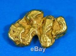 #88 Alaskan BC Natural Gold Nugget 1.71 Grams Genuine